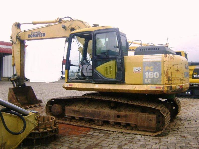 EscavadeiraKOMATSUPC160 - 18A101
