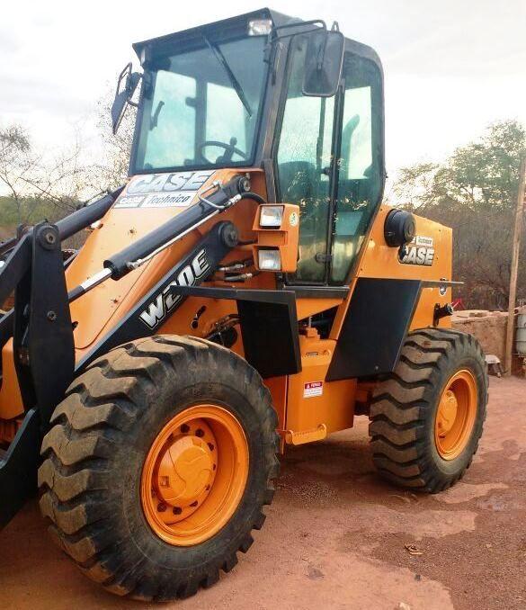 Carregadeira PneuCASEW20E - 18A305
