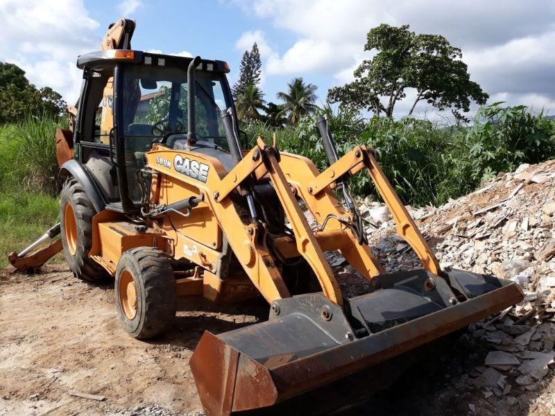 Retro EscavadeiraCASE580N - 18A404