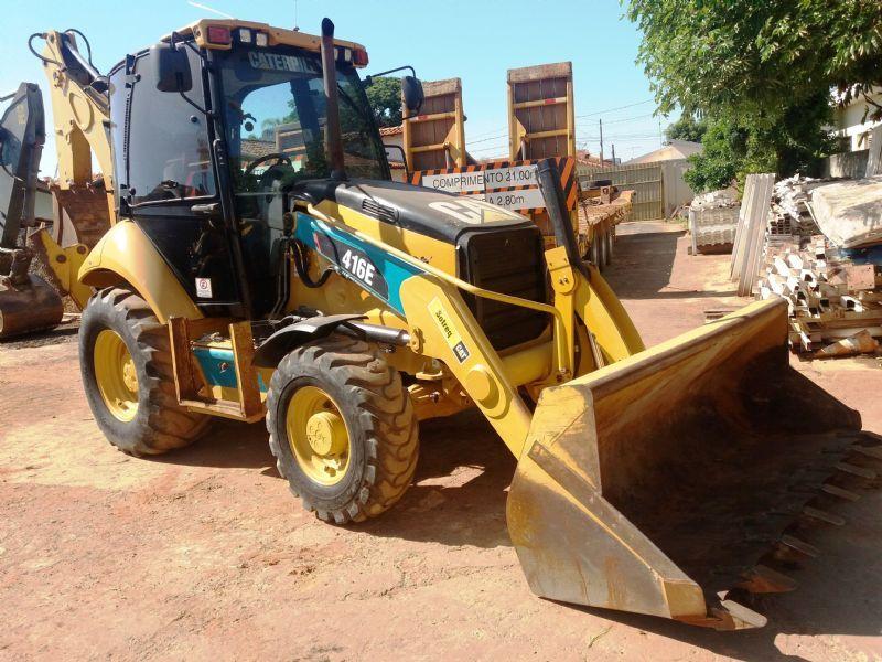 Retro EscavadeiraCATERPILLAR416E - 18B223