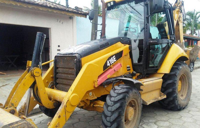 Retro EscavadeiraCATERPILLAR416E - 18B308
