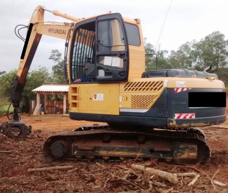 EscavadeiraHYUNDAIR160 - 18B402