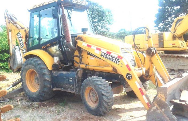 Retro EscavadeiraRANDONRD406 - 18B410