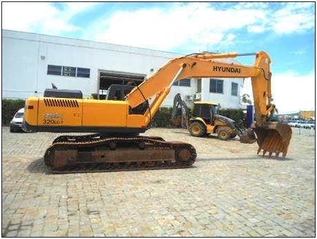 EscavadeiraHYUNDAIR320 - 18B419