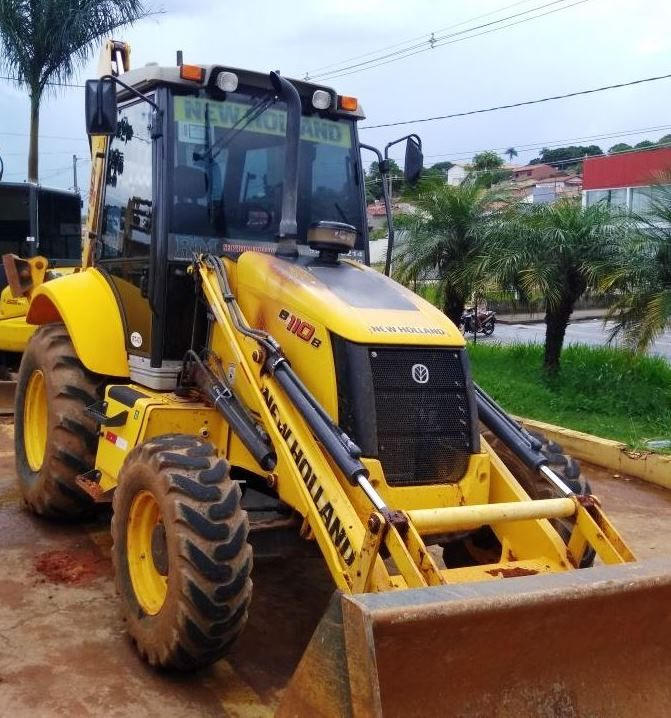 Retro Escavadeira NEW HOLLAND B110 - 18C202