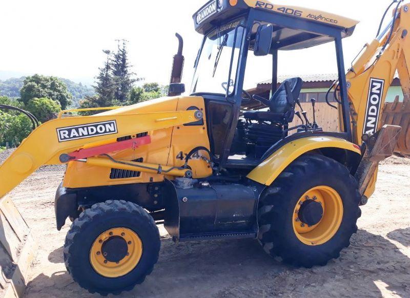 Retro EscavadeiraRANDONRD406 - 18D115