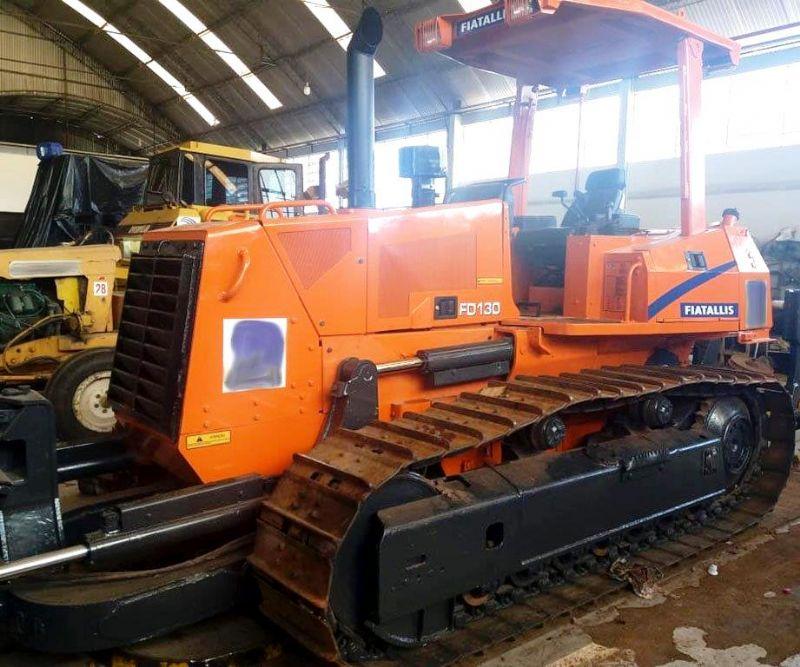 Trator EsteiraFIATFD130 - 18D319