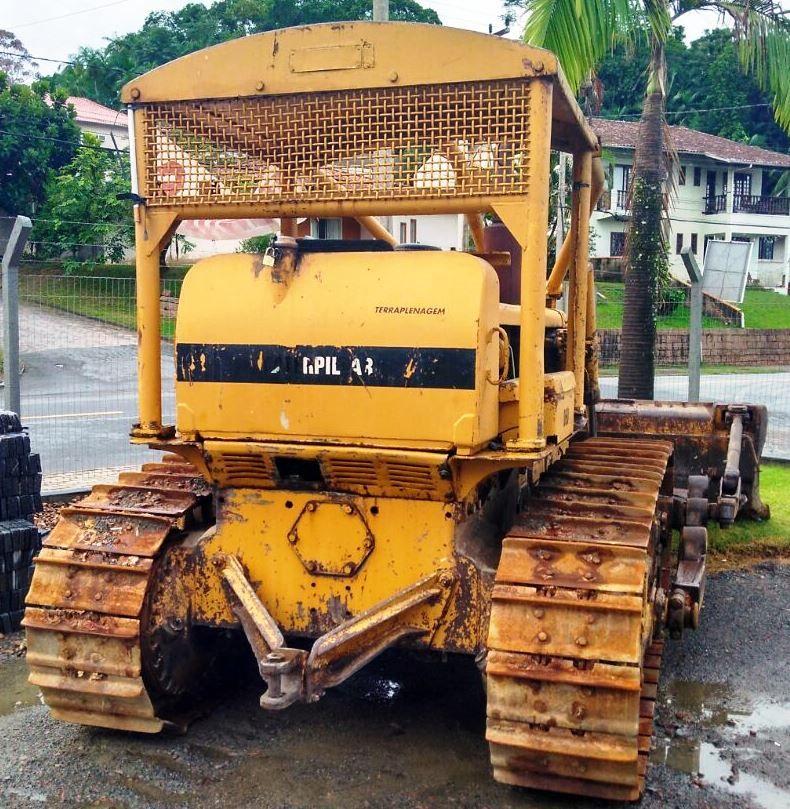 Trator EsteiraCATERPILLARD6CPS - 18D415