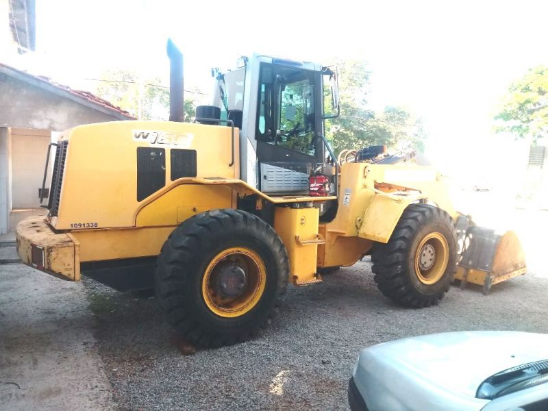 Carregadeira Pneu NEW HOLLAND W160 - 18E215