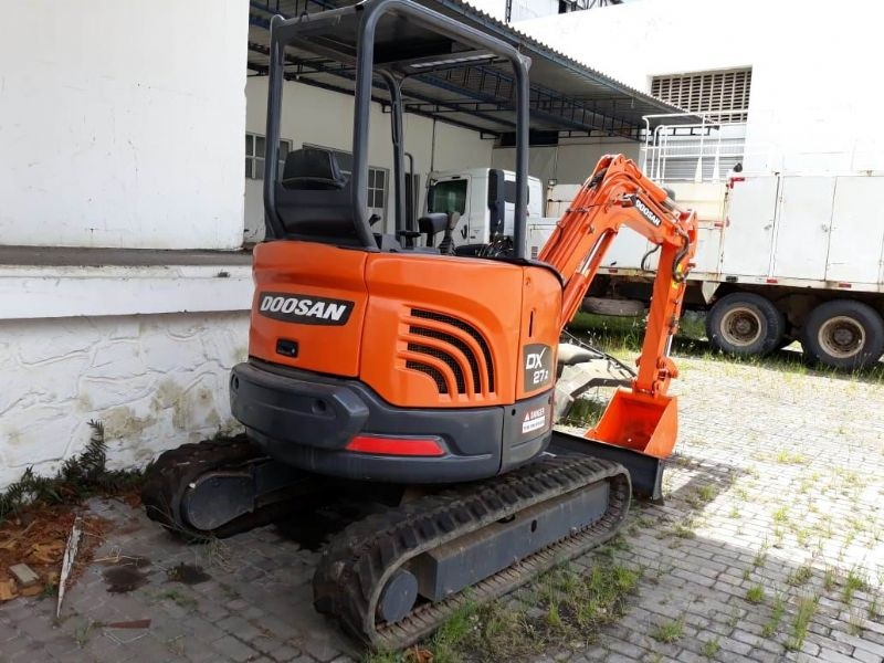 Mini Escavadeira DOOSAN DX27Z - 18E404