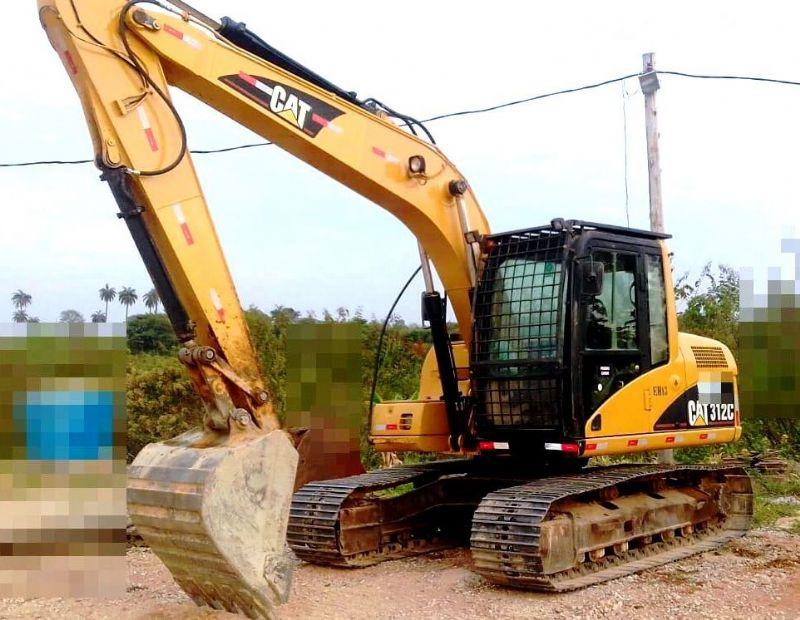 EscavadeiraCATERPILLAR312C - 18E407