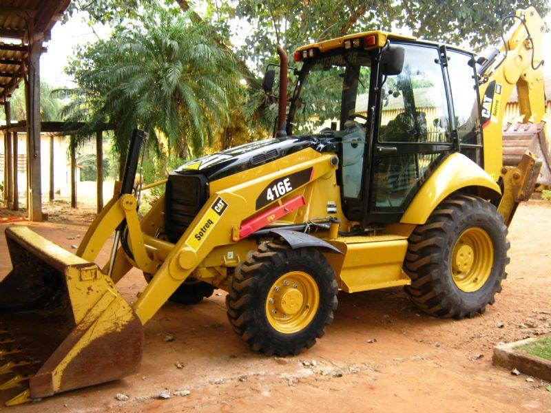 Retro EscavadeiraCATERPILLAR416E - 18F403