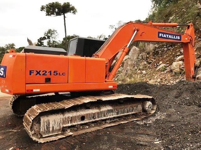 EscavadeiraFIATFX215 - 18G305