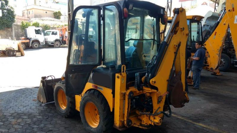 Mini Retro Escavadeira JCB 1CX - 18G321