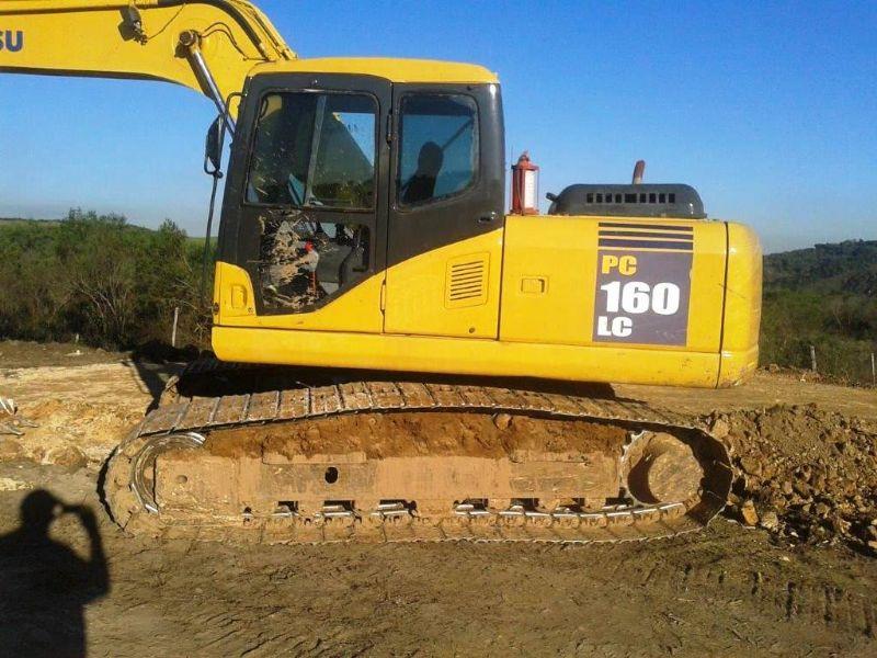 EscavadeiraKOMATSUPC160 - 18H304