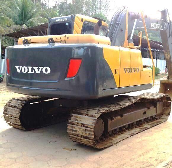 EscavadeiraVOLVOEC140 - 18I213