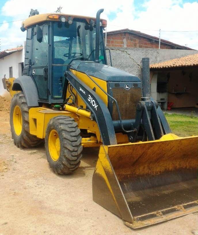 Retro EscavadeiraJOHN DEERE310K - 18L307
