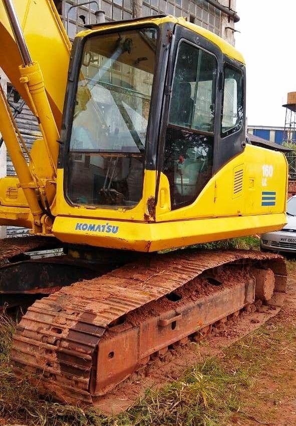 EscavadeiraKOMATSUPC160 - 19A107