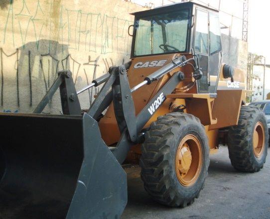 Carregadeira PneuCASEW20E - 19A315