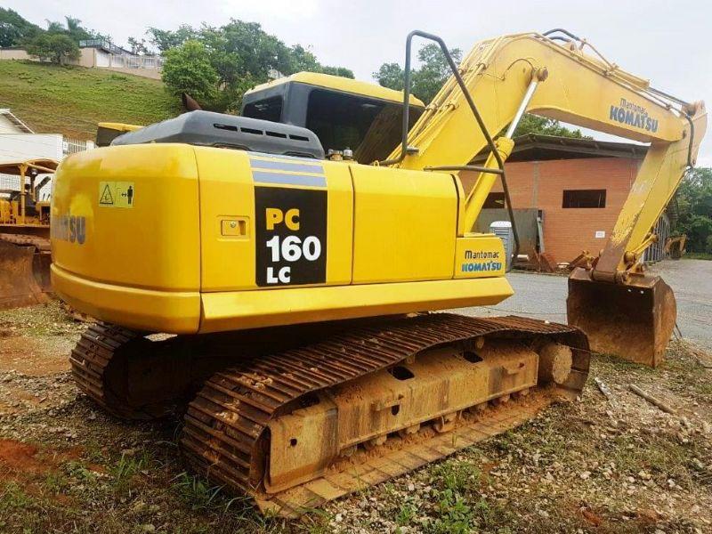 EscavadeiraKOMATSUPC160 - 19A505