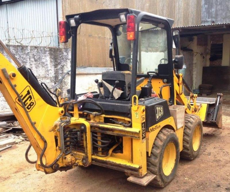 Mini Retro Escavadeira JCB 1CX - 19B102