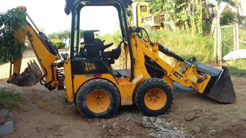Mini Retro Escavadeira JCB 1CX - 19B404