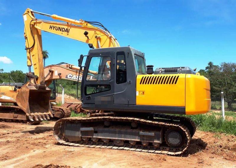 EscavadeiraHYUNDAIR160 - 19C314