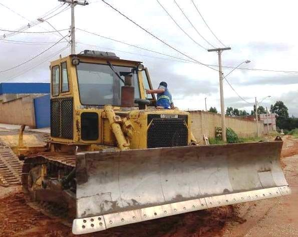 Trator EsteiraCATERPILLARD6CPS - 19D202