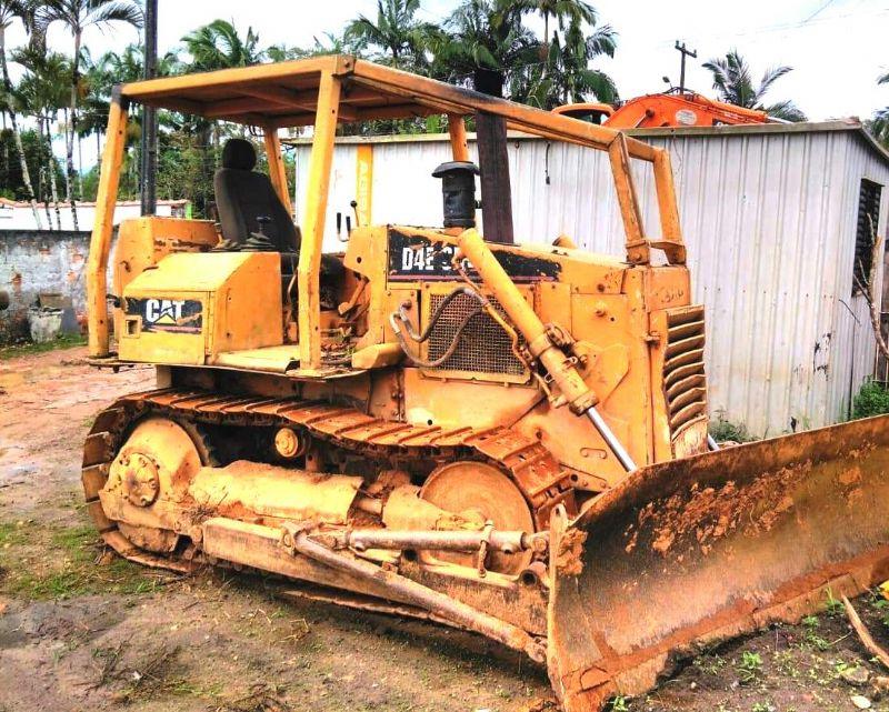 Trator EsteiraCATERPILLARD4ESR - 19D420