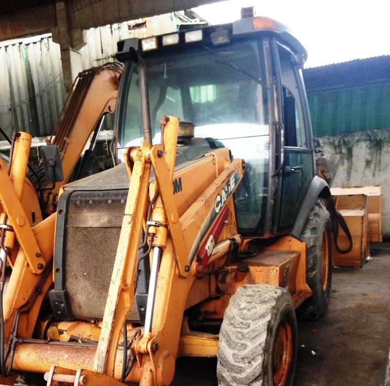 Retro EscavadeiraCASE580M  - 19E406