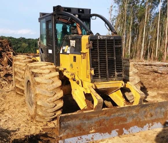 Skidder CATERPILLAR 525 - 19E410
