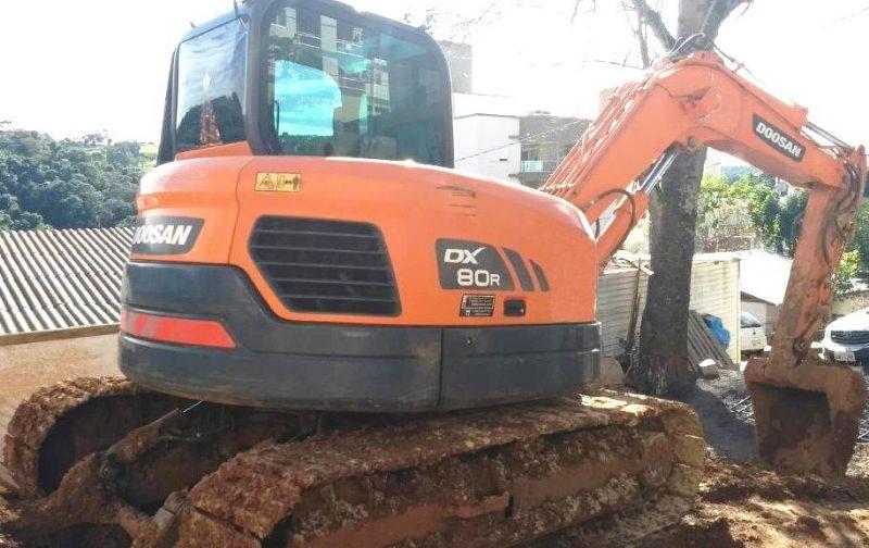 EscavadeiraDOOSANDX80R - 19E427