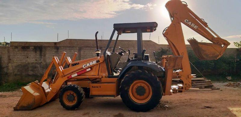 Retro EscavadeiraCASE580L - 19F210