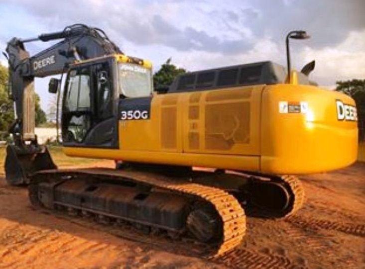 EscavadeiraJOHN DEERE350G - 19G410