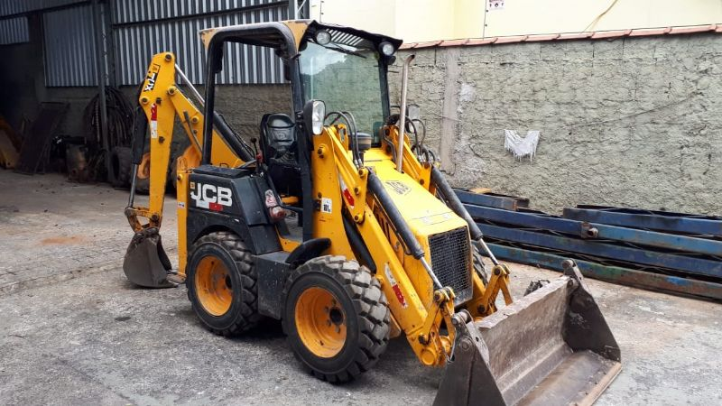 Mini Retro Escavadeira JCB 1CX - 19G508