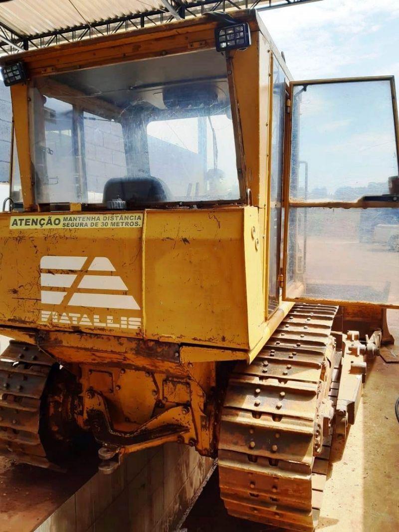 Trator EsteiraFIAT7D - 19J106