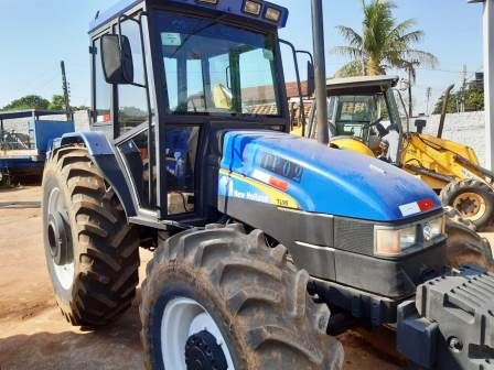 Trator Pneu NEW HOLLAND TL95 - 19K303