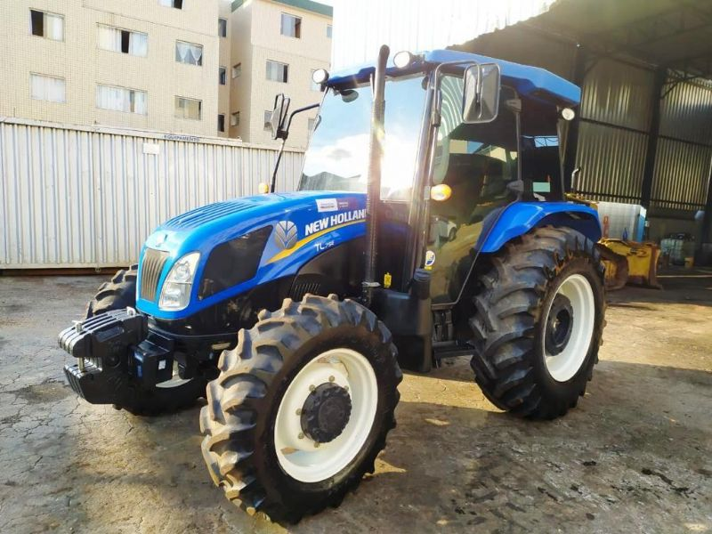 Trator Pneu NEW HOLLAND TL75 - 19K419