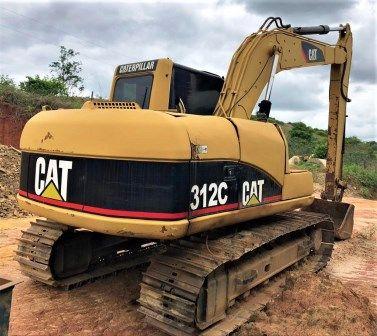 EscavadeiraCATERPILLAR312C - 20A306