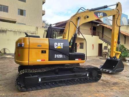 EscavadeiraCATERPILLAR312D - 20A407