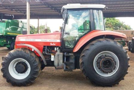 Trator PneuMASSEY FERGUSON680HD - 20E308