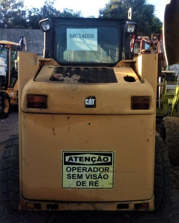 Mini Carregadeira CATERPILLAR 226B - 20F113
