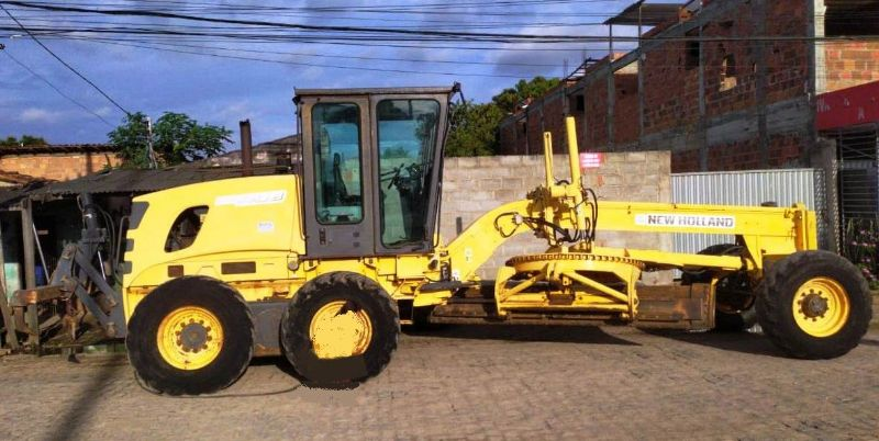 Motoniveladora NEW HOLLAND RG140 - 20J525