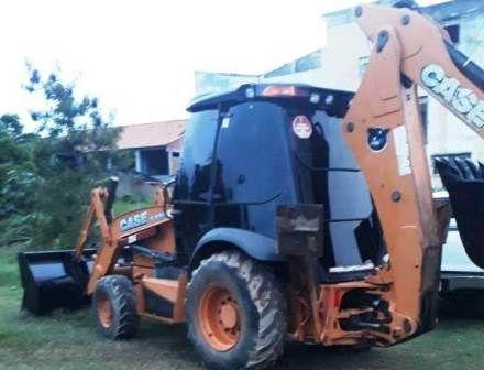Retro EscavadeiraCASE580N - 21D204