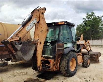 Retro EscavadeiraCASE580N - 21D222